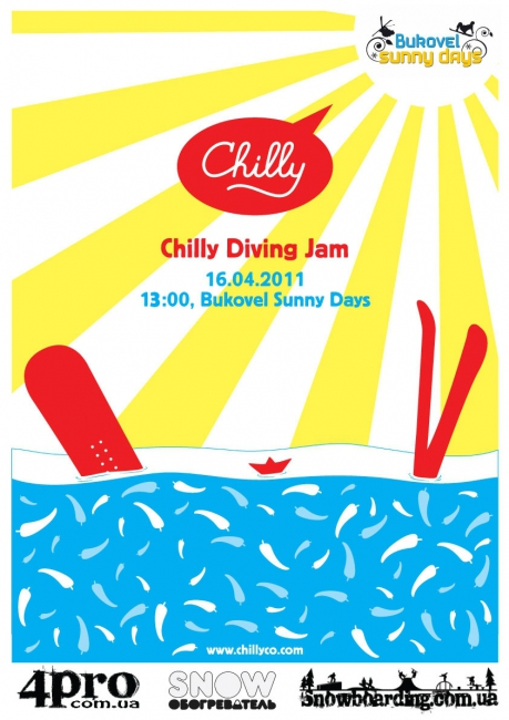 Chilly Co Diving Jam на Sunny Days